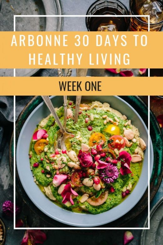 Arbonne 30 Days To Healthy Living Challenge: Week One