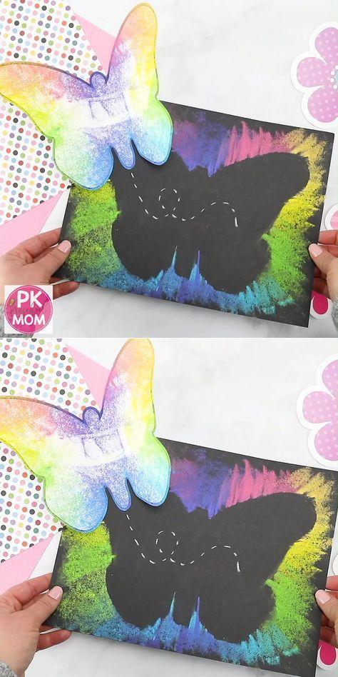Butterfly Art Project for Kids