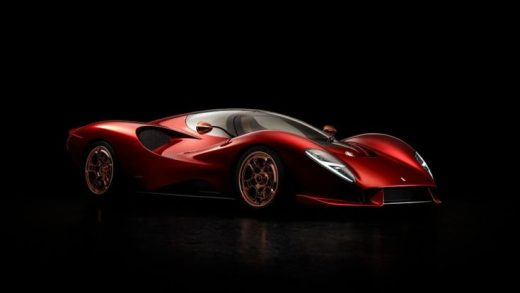 De Tomaso Makes a Bold Comeback with the Astonishing P72 Supercar