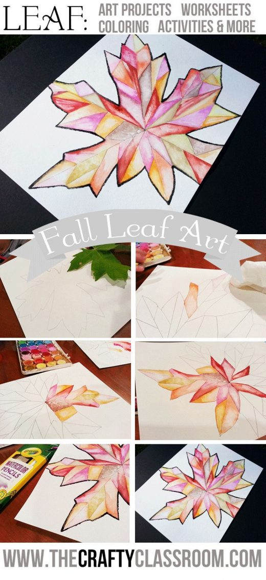 Fall Leaf Art Project