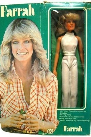 Farrah Fawcett~Totally Awesome And Kinda Weird 1970s Celebrity Dolls