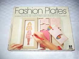 From the '70s & '80s: Fashion Plates (as Decor?)