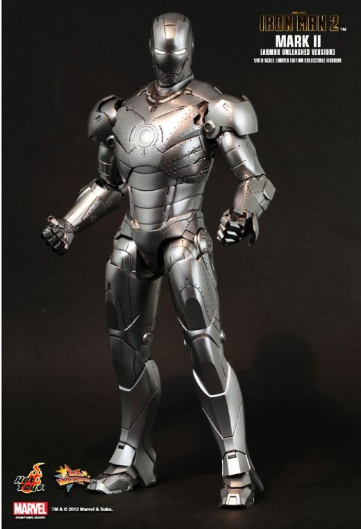 Hot Toys : Iron Man 2 – Mark II (Armor Unleashed Version) 1/6th scale Limited Ed…