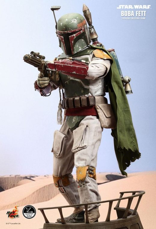 Hot Toys : Star Wars: Episode VI Return of the Jedi – Boba Fett 1/4 scale Collec…