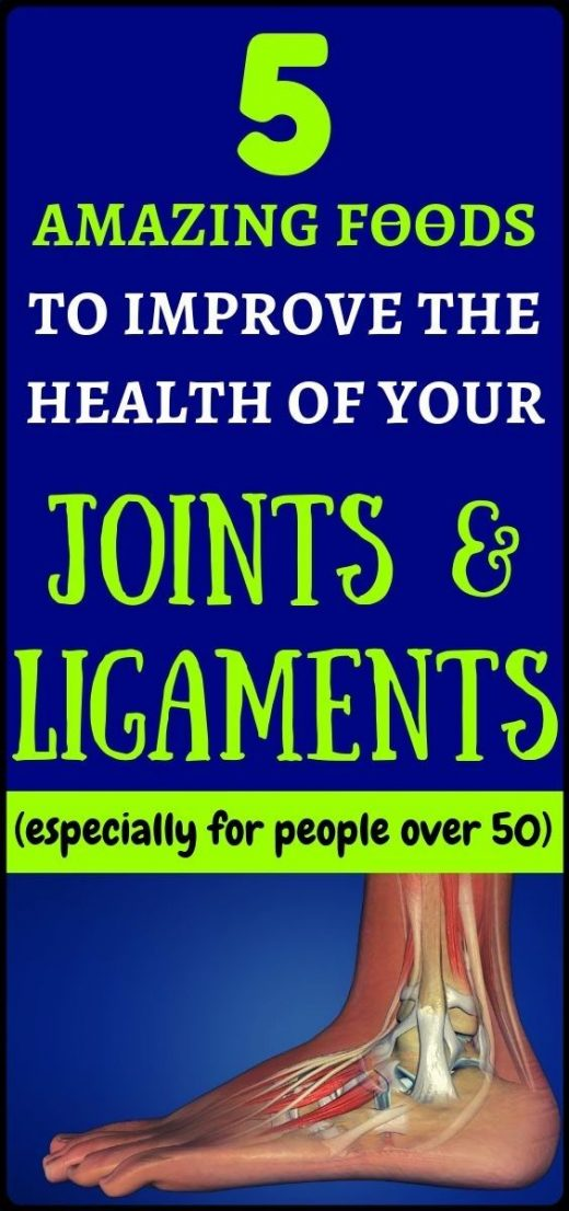 Improve the health of the joints and ligaments just by consuming these superfood…