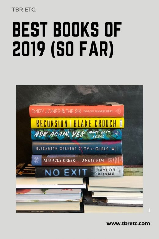 Jul 5 Best Books of 2019 (so far) and Mid-Year Reading Update