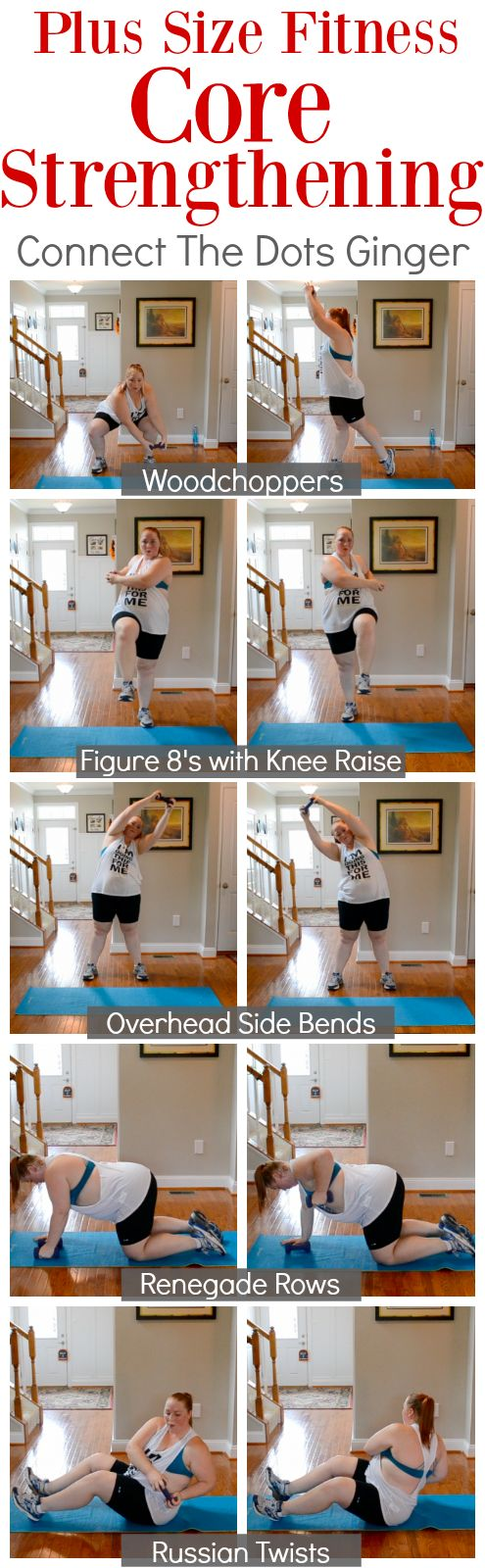 Plus Size Fitness: Core Strengthening Workout