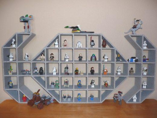 "Star Wars TIE Fighter Children's Wood Display Shelf ""Precision hand crafted …"