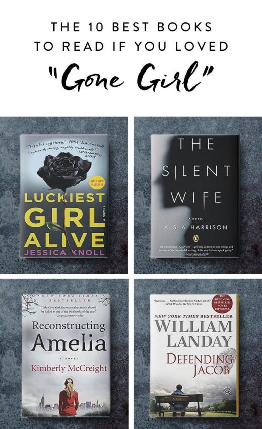 """The 10 Best Books to Read If You Loved """"Gone Girl"""""""