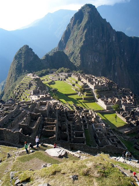 The Amazing View at Machu Picchu