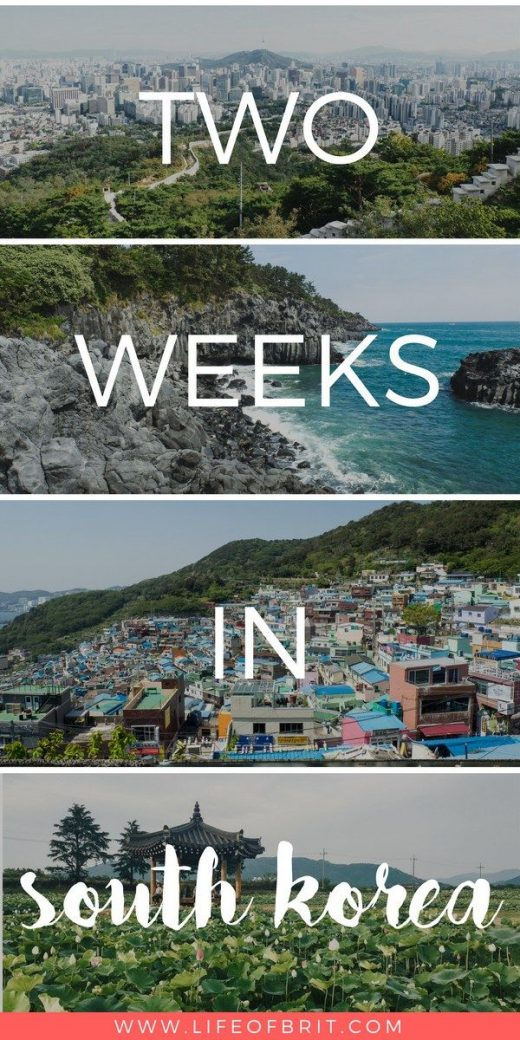 The Ultimate Guide to 2 Weeks in South Korea