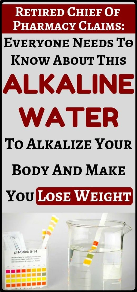 This alkaline water will alkalize your body prevent cancer and other diseases + …