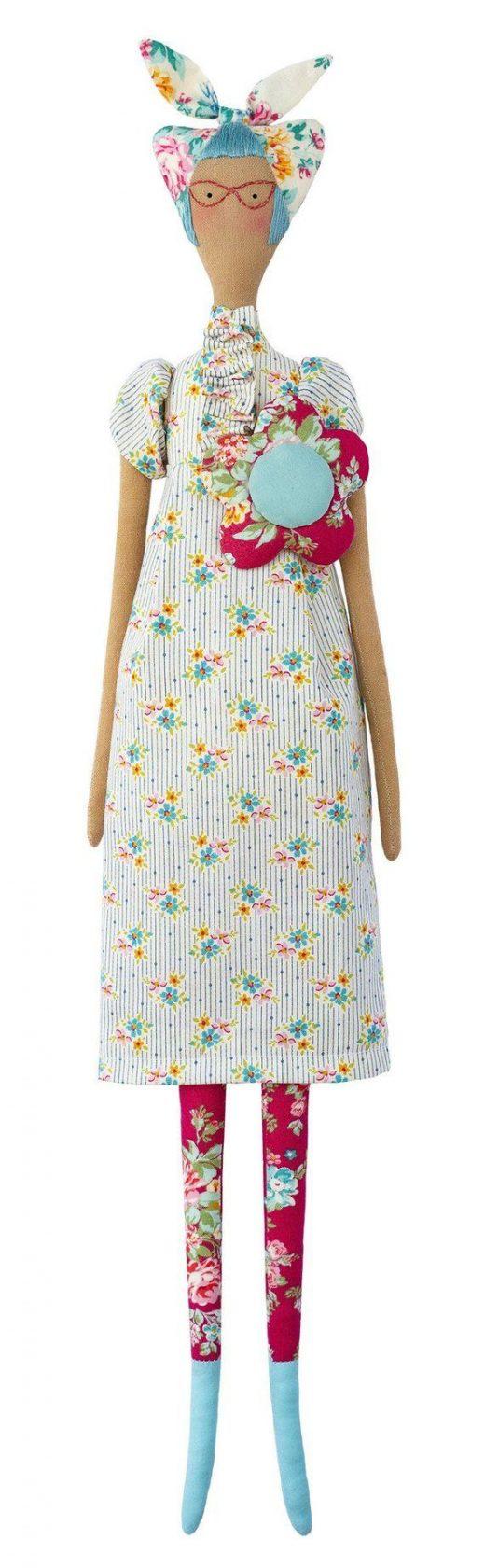Tilda Apple Butter Kitschy Friends Sewing Kit | 22.5″ Tall | Tilda Quilt Fabric Bundle | Tilda Doll Kit | Gift