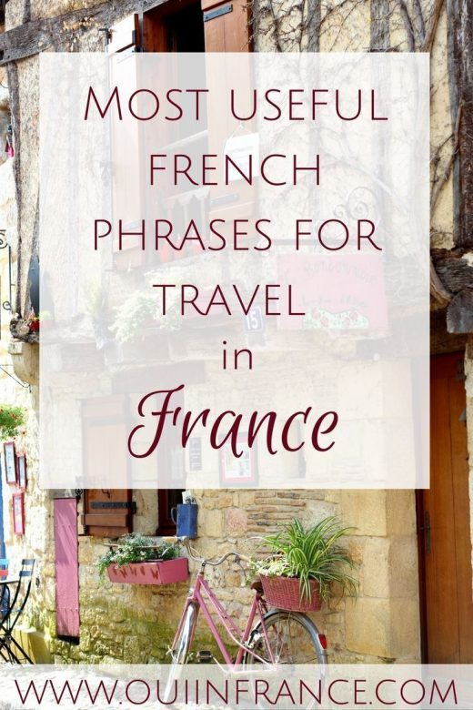 Useful French travel phrases you must know for a trip to France (AUDIO)