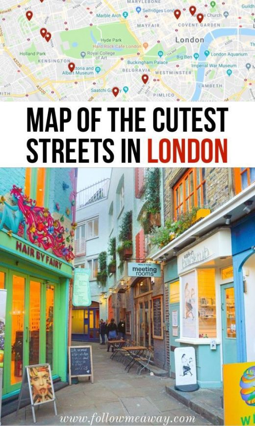 10 Prettiest Streets In London + Map To Find Them