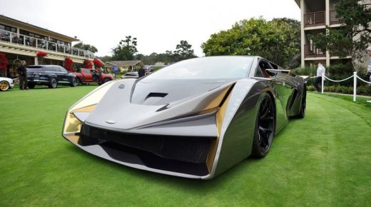 2018 SALAFF C2 Supercar Concept – Best of Pebble Beach – 30-Photo Gallery » Best of 2018 Awards