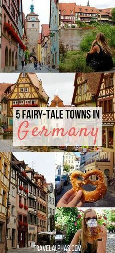 5 Fairy Tale Towns in Germany That You Must Visit