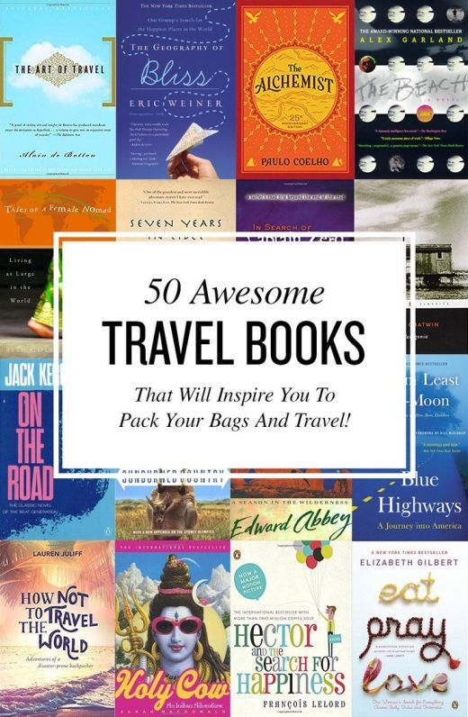 50 Best Travel Books Of All Time