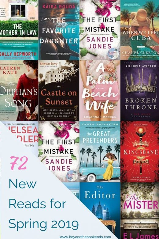 90+ Adult and YA New Releases for Spring 2019