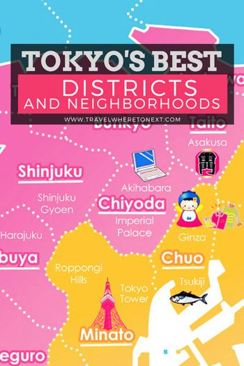 A Quick Guide to Tokyo's Best Districts & Neighborhoods