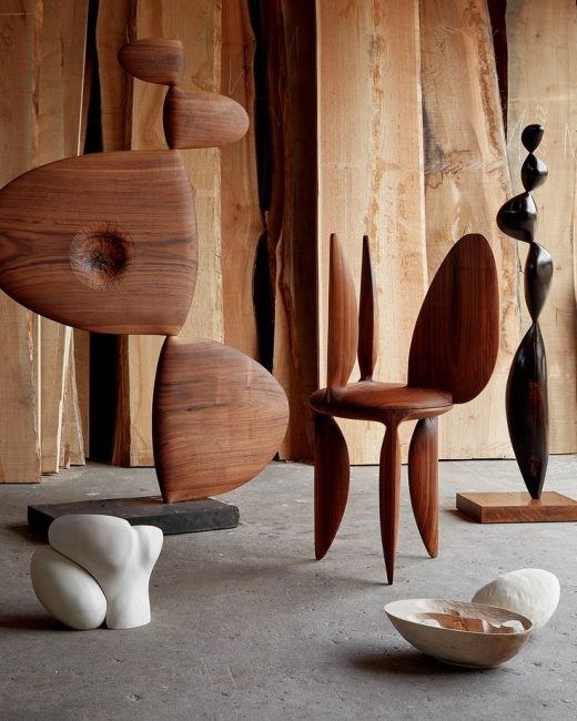 Barbara Hepworth–Inspired Objects By an Architect-Turned-Sculptor in Copenhagen