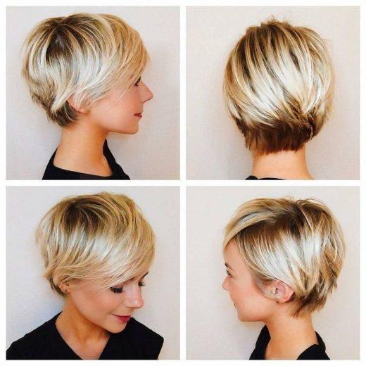 Best Short Haircut for Women, Cute Short Hairstyle Designs – #Cute #designs #haircut #Hairstyle #Short #Women