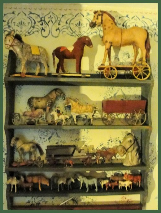 Collecting Antique horses