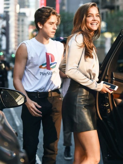 Dylan Sprouse and Barbara Palvin Are the Best Dressed Couple of Fashion Month