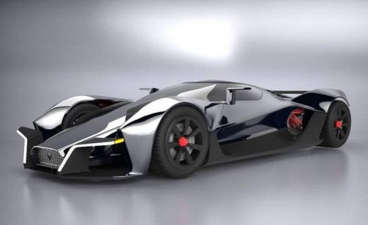 Electric supercar – Dendrobium