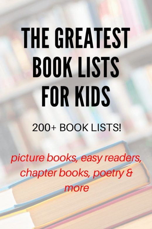 Giant Collection of Book Lists for Kids