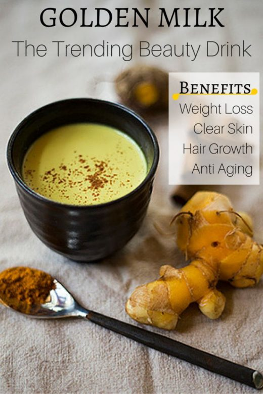 Golden Milk: The Trending Beauty Drink (For Healthy skin, hair and nails..) –