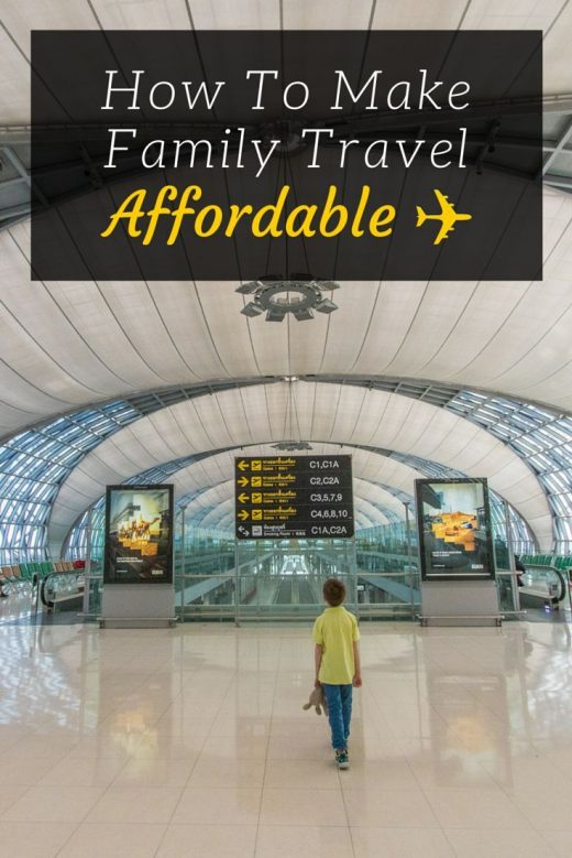 How to Make Family Travel Affordable