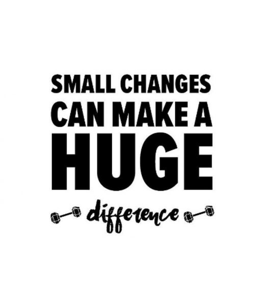 Losing Weight: Small Changes, Big Results
