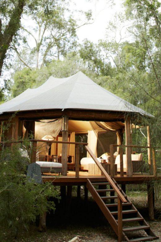 Luxury Tent Rental in NSW near Jervis Bay