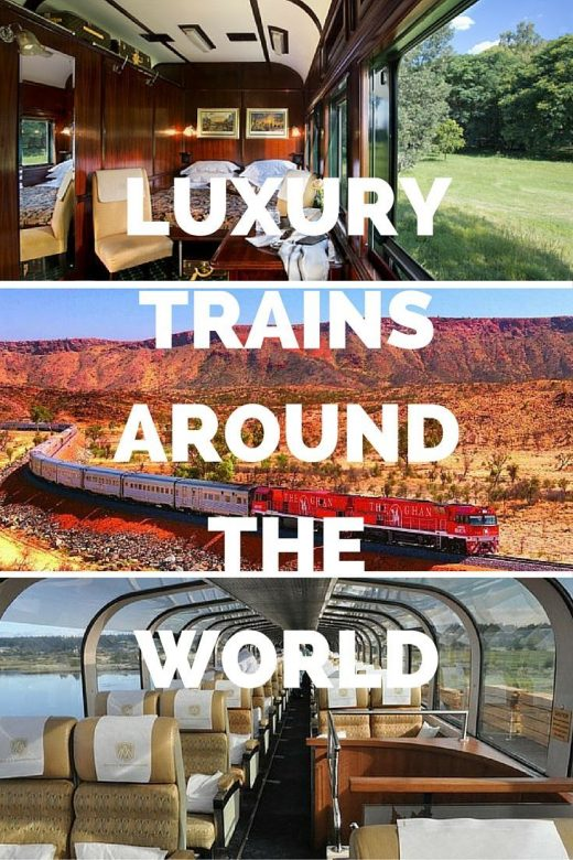 Luxury Trains Around the World