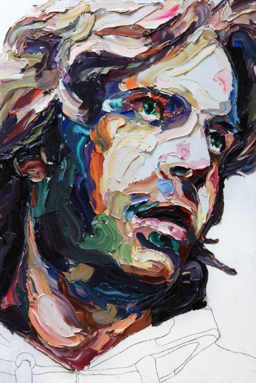 Paintings by Joshua Miels