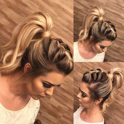 Quick Hairstyles with Braids
