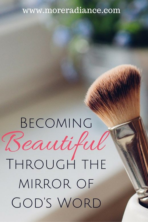 Turning into Lovely Via the Mirror of God's Term: Section A person