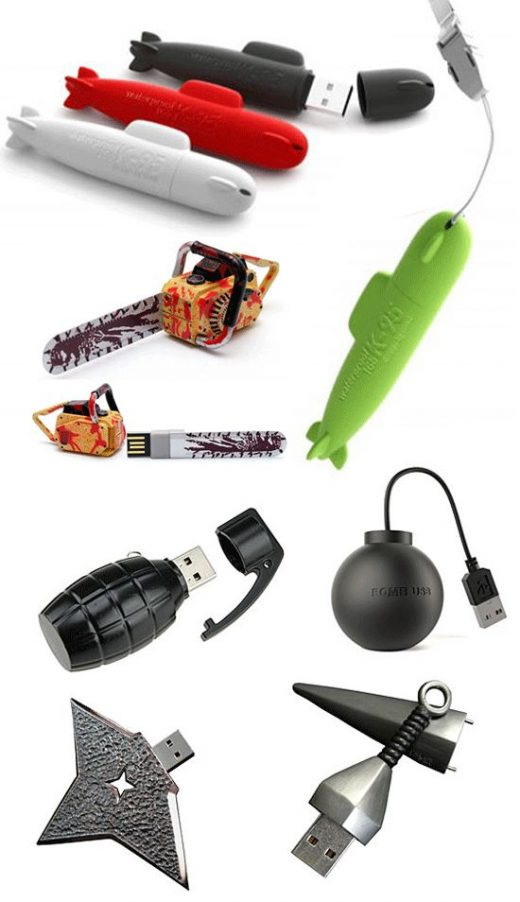 USB Drives That Make You Jump Drive For Joy!