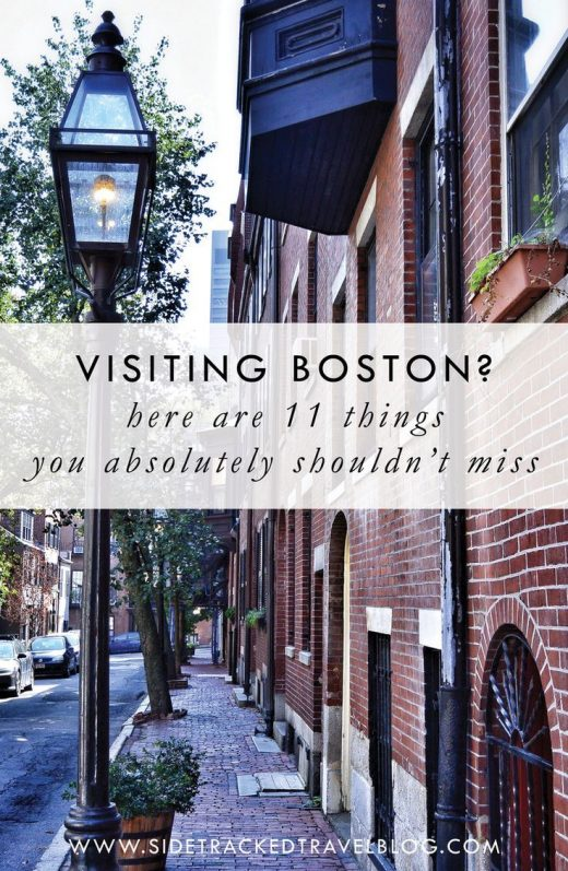 Visiting Boston? Here are 11 Things You Absolutely Shouldn't Miss