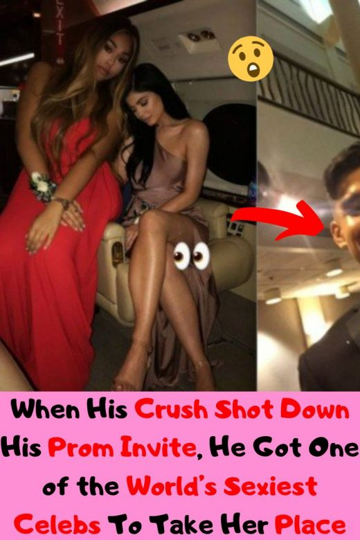 When His Crush Shot Down His Prom Invite, He Got One of the World's Sexiest Celebs To Take Her Place