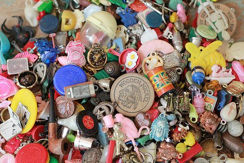 vintage charms and toys