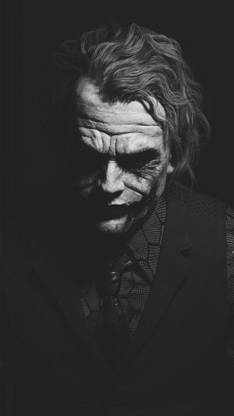 1080×1920 1080×1920 Heath Ledger Joker Monochrome Batman. Joker Hd Wallpapers Fo…