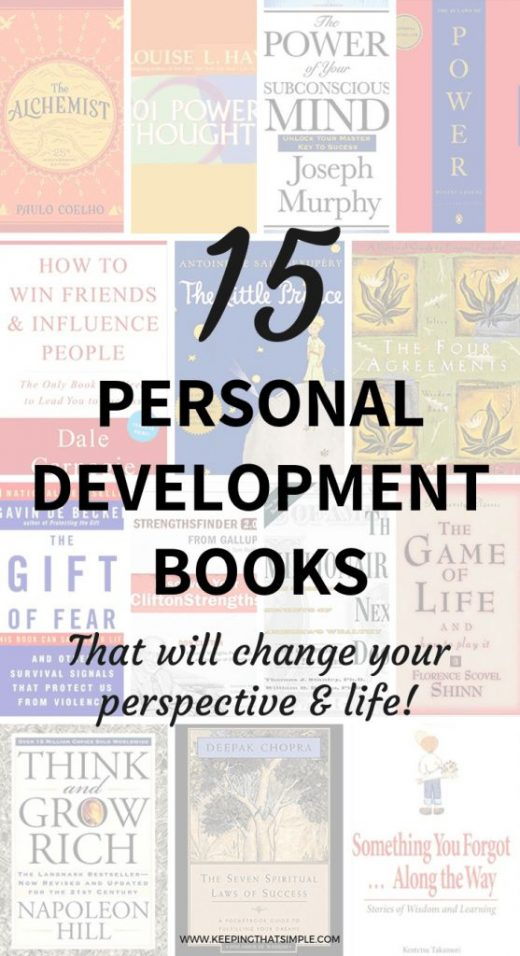 15 Best Books for Personal Growth