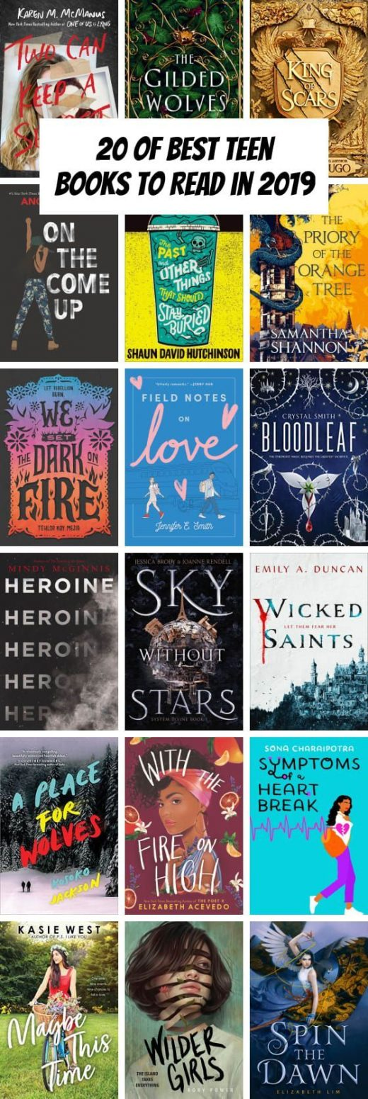 19 of Best Teen Books to Read in 2019