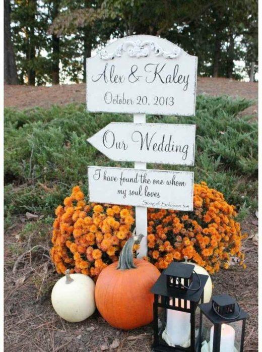 21 Awesome Fall Wedding Ideas Worth Stealing!