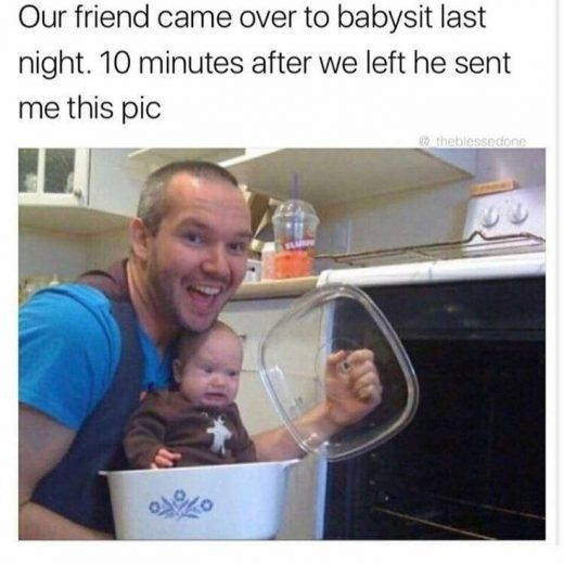 30 Seriously Funny Babysitter Memes