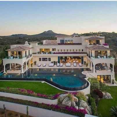 40 Stunning Mansions Luxury Exterior Design Ideas (41
