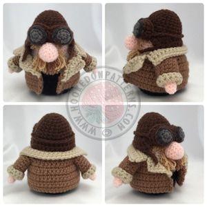 Biker Gonk Free Crochet Pattern – Toy Clothes