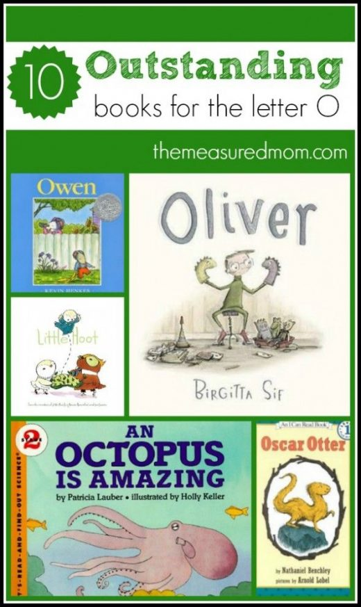 Books to read for letter O